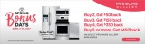 Frigidaire Spring Bonus Up to $450 on Purchase of Qualifying Package