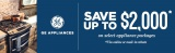 GE Sales Event Save Up To $2000