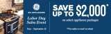 GE Labor Day Sales Event Save Up To $2,000