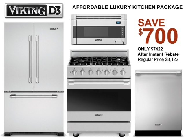 Viking Kitchen Liance Package From Aspirational To Affordable