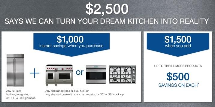 Kitchen Offer