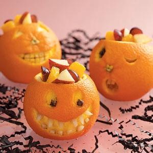 Jack-o'-Lantern Oranges