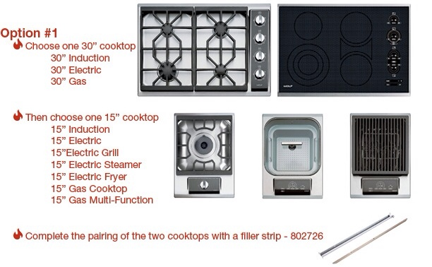 Wolf Cooktops