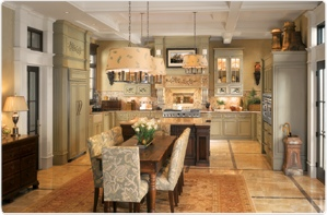 Monogram Custom-Panel Kitchen