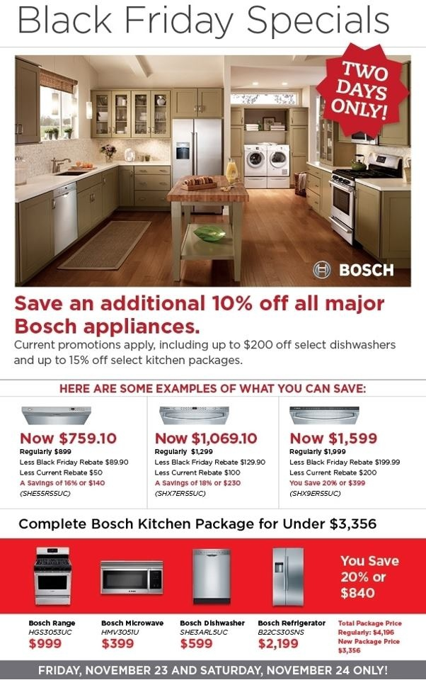 Another Black Friday Special - Universal Appliance and ...