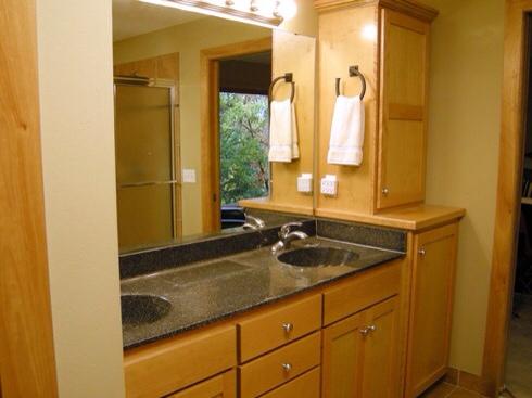 Bath renovation before