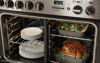 AGA split oven