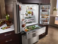Jenn-Air Refrigerator Open
