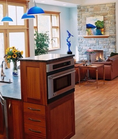 Microwave Ovens In A Kitchen Island Universal Appliance And Kitchen Center Blog