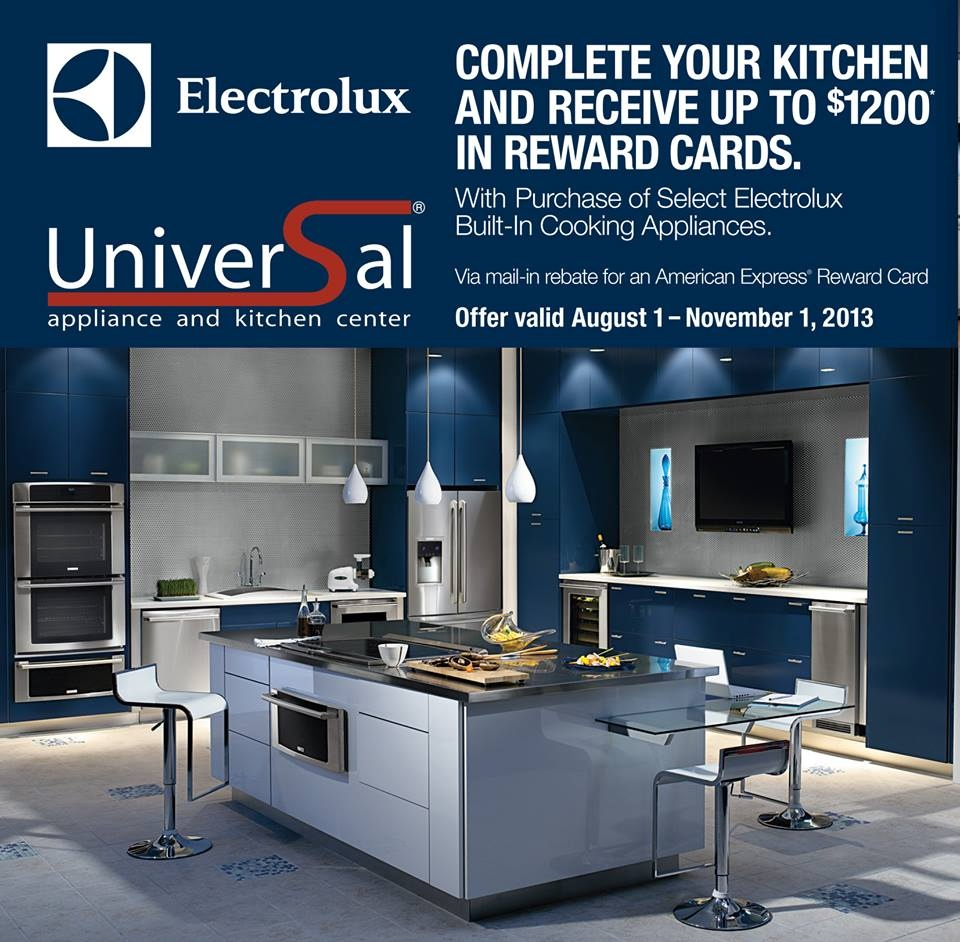 Universal Appliance and Kitchen Center | Blog | Save on Electrolux ...