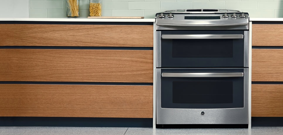 get it at universal appliance and kitchen center - Gas Range Double Oven
