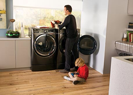 Ge Rightheight Front Load Washer And Dryer Universal