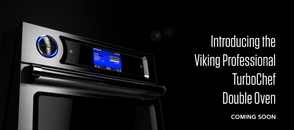 Viking Professional TurboChef Double Oven