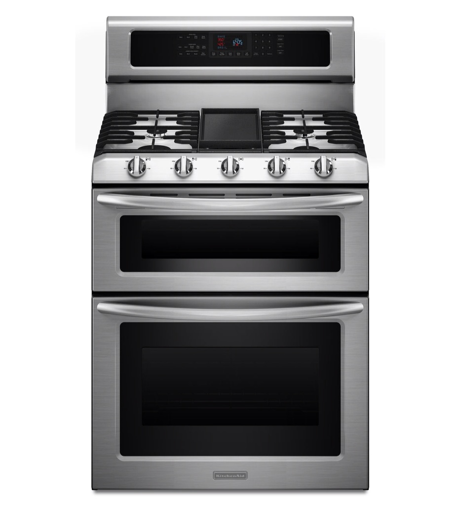KitchenAid Double Oven Range