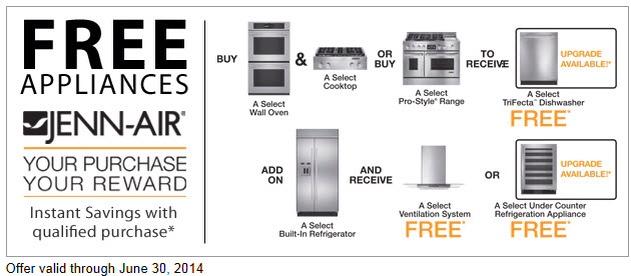 Free Jenn-Air Appliances
