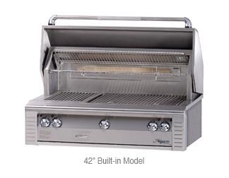 "42"" Built-In Aflresco Grill"