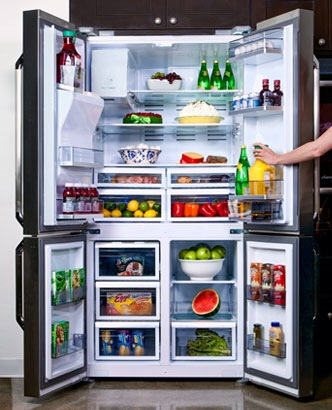 Dacor 4-Door Refrigerator