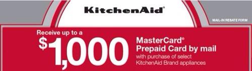 KitchenAid Rebate