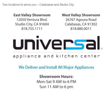Universal Appliance
