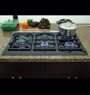 Dacor Gas Touch Cooktop