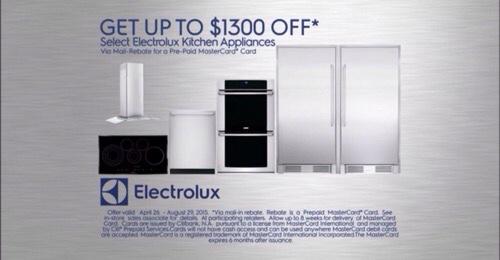 Electrolux-Rebate