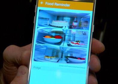 Smartphone-Refrigerator-Link