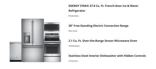 GE-Appliance-Selection