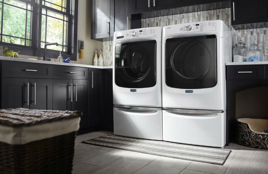 two front load washers