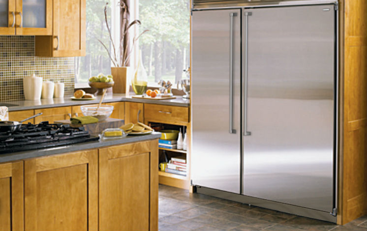 Advantages and Disadvantages of a Side-By-Side Refrigerator ... on kitchen colors, kitchen tables, kitchen cabinets, kitchen refrigerator, kitchen islands, kitchen lights, kitchen amenities, kitchen design, kitchen ranges, kitchen decor, kitchen sinks, kitchen items, kitchen faucets, kitchen pots and pans, kitchen countertops, kitchen collection, kitchen organizers, kitchen antiques, kitchen pantry, kitchen plumbing fixtures,