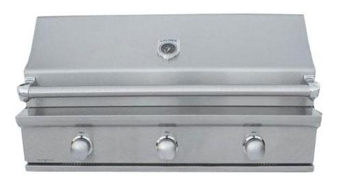 CaliberCaliber 41&quot Crossflame Silver Series Grill with Stainless Steel Handle - Stainless Steel, Liquid Propane