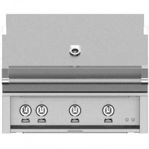 HestanHestan 36&quot Built-In Grill With (2) Trellis, Sear And Rotisserie Stainless Steel