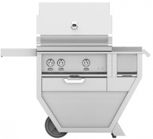 HestanHestan 48&quot Freestanding Deluxe Grill with Worktop / Drawer, (2) Trellis And Rotisserie
