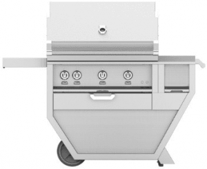 HestanHestan 54&quot Freestanding Deluxe Grill with Worktop / Drawer, (3) Trellis, Rotisserie