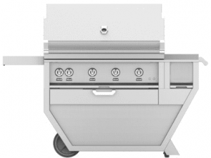 HestanHestan 60&quot Freestanding Deluxe Grill with Worktop / Drawer, (4) Trellis, Rotisserie