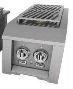 HestanHestan 12&quot Built-in or Cart-Attached Double Side Burner