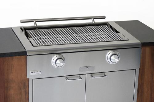 CaliberCaliber 42'' Built-in Rockwell Grill - Stainless Steel, Liquid Propane