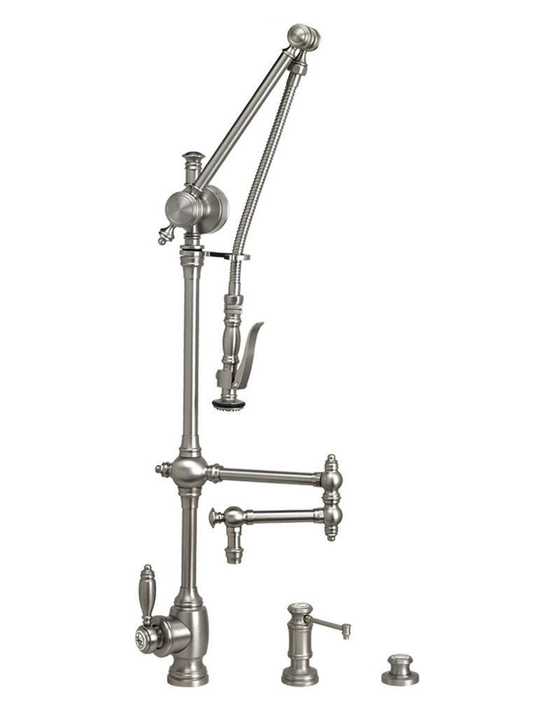 Waterstone Kitchen Fixtures Kitchen Faucets Polished Gold 4410123PG
