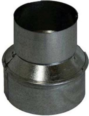 Zephyr10&quot to 8&quot Galvanized Steel Round Duct Reducer for Zephyr Range Hoods