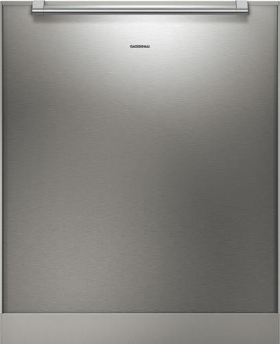 GaggenauGaggenau Stainless Steel-Backed Full Glass Door with Handle Included