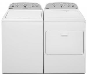 WhirlpoolWhirlpool 4.3 cu. ft. High-Efficiency Top Load Washer WTW5000DW & Electric WED5000DW or Gas WGD5000DW   <br><br><h3><b>Select matching dryer below for Package Price</b></h3>