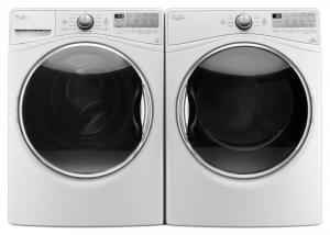 Whirlpool4.5 cu. ft. Front Load Washer WFW92HEFW  & 7.4 cu. ft. Electric Dryer WED92HEFW or Gas Dryer WGD92HEFW   <br><br><h3><b>Select matching dryer below for Package Price</b></h3>