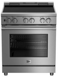 BekoBeko 30&quot - 5.7 Cu. Ft. Pro-Style Induction Self-Clean Convection Range