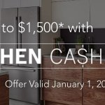 Bosch Up to $1500 Kitchen Package
