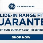 GE Appliances up to $300 Slide-In Range Guarantee Fit